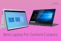 Best Laptop For Content Creators